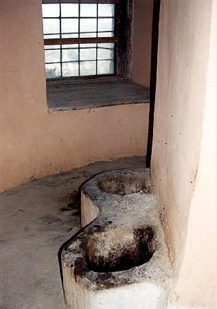 Középkori illemhelyek a munkácsi várban